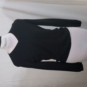 NWT Olivia & Grace Black Cashmere Sweater Medium